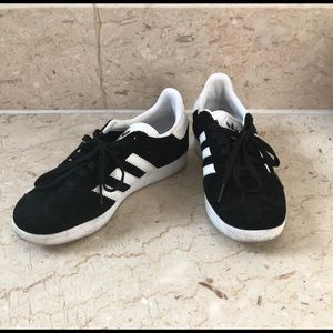 Shoes - White and Black adidas